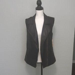 NEW Gianni Bini leather vest